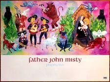 FATHER JOHN MISTY I Love You Honeybear Ltd Ed Discontinued RARE New Poster! Rock