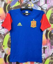 Spain National Football Team Shirt Soccer Jersey Training Top Mens Size XS/S
