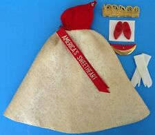 Vintage TAMMY DOLL BEAUTY QUEEN Outfit #9169-4 N/Complete 1962 EUC