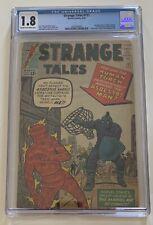 STRANGE TALES #111 CGC 1.8 1963 2ND APPEARANCE OF DOCTOR STRANGE 1ST BARON MORDO