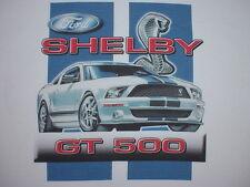 MUSTANG T-SHIRT 08 07 SHELBY COBRA GT500 2009 2008 2007 - Md-Lg-XL-XXL