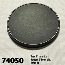 Reaper Miniature 55mm Round Gaming Base RPR 74050