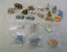 Lot of 21 Assorted Wade Figurines ~ Very Good To Unopened
