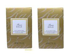 Avon Rare Gold Eau de Parfum Spray Colonia En Spray 1.7 Fl Oz LOT OF 2