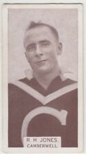 Camberwell Football Club 1933 R Jones W D & H O Wills Footballers cigarette card
