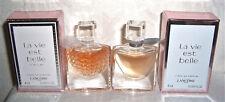 Lancome LA VIE EST BELLE Set l´Éclat + l´ Eau de Parfum 2 x MINIATUR Mini Flakon