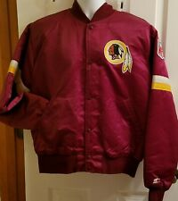 Starter 90's Officially Licensed NFL Washington Redskins Satin Jacket Large