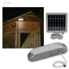 LED Solar Wandleuchte mit 10 LEDs weiß Solarleuchte, Solarlampe, Gartenleuchte
