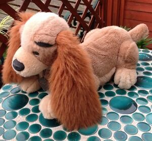 Disney Lady And The Tramp Lady Soft Plush Toy With Dog Tag  18''