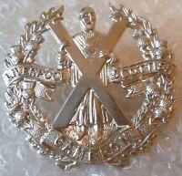 Badge- Liverpool Scottish Cameron Highlanders British army Cap Badge (WM)