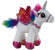 Unicorn Lolly White Plush Stuffed Toy 22cm by Elka Australia