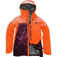 The North Face Men's FREE THINKER 3L Gore-Tex Pro-Shell Ski Jacket Orange Fig M