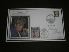 1998 GB Stamps PRINCESS DIANA BENHAM First Day Cover Signed WAYNE SLEEP (Dancer)