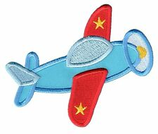 Airplane Iron On Embroidered Applique Patch - Kids / Baby / PatchMommy®