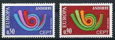 Andorra 247 - 248 ** postfrisch Cept 1973 Michel 20,00 € MNH