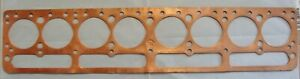 31 32 33 34 35 Buick 8 Series 80 90 NOS Copper Head Gasket Fitzgerald 1036 RARE