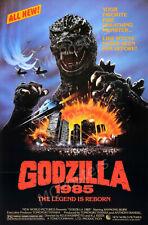 MCPoster - Godzilla 1985 Movie Poster Glossy Finish - PRM285