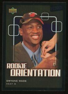2003 Upper Deck Victory Rookie Orientation Dwyane Wade Miami Heat RC