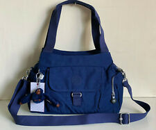 NEW! KIPLING FELIX LARGE INK BLUE SHOULDER BAG CROSSBODY SLING PURSE $114 SALE