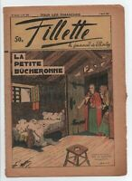 FILLETTE n°1622 couverture par CALVO - 23 AVRIL 1939. TBE