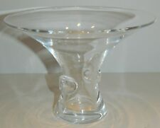 "Steuben Crystal BOUQUET Vase 4 7/8"" - #7985 George Thompson 1949"