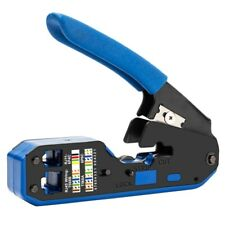 Rj45 Tool Network Crimper Cable Stripping Plier Stripper for Rj45 Cat6 Cat5 P8Y2