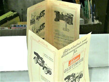 NOTICE ORIGINALE SCHUCO 1966 (4 LANGUAGES) OLDTIMER TIN TOY MERCEDES 1902