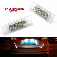 Light Number Light LED License Plate For T5 VW Volkswagen Passat Jetta Golf