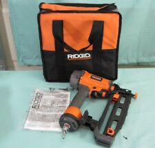Ridgid R250SFE 16-Gauge 2-1/2 in. Straight Finish Nailer w Manual and Case