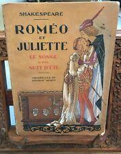 Roméo et Juliette, Le songe d'une unit d'été – aquarelles M. Berty - Nilsson