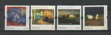 Moldova 2017 Art Fauna in Paintings, Birds, Animals 4 MNH Stamps