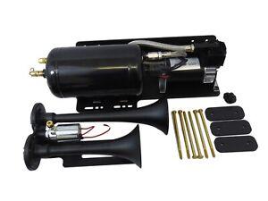 Kleinn Automotive Air Horns JEEPKIT-1 Trail Blaster Dual Air Horn Kit