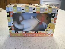"Olive the Other Reindeer Mini Plush 7"" MerryMakers 1998 Ornament New In Box"