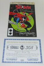 Spawn #301 Comic Image VARIANT 3x SIGNED Todd McFarlane COA Alamo Drafthouse