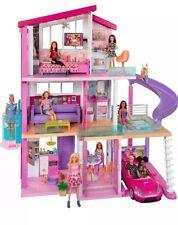 Barbie CASA DEI SOGNI tre piani casa delle bambole con mobili, 2018 NUOVE SCATOLA DANNEGGIATA