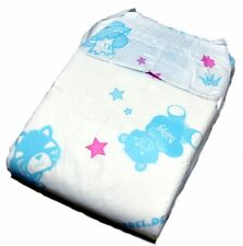 Fabine Teddy ABDL Nappy Size MEDIUM - SAMPLER PACK - 2 NAPPIES