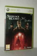 SHERLOCK HOLMES VERSUS JACK LO SQUARTATORE USATO XBOX 360 ED ITALIANA FR1 54701