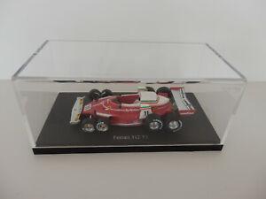 AUTOCULT 1/43  FERRARI 312 T8 N°11  Regazzoni 1976  Neuf Boite Vendue Sans Livre