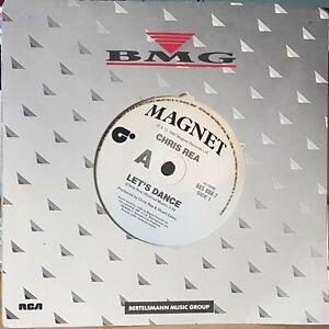 """Chris Rea – Let's Dance - 1987 7"""" single 45rpm excellent"""