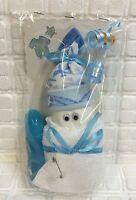 Windeltorte Mitbringsel Windelbaby blau Babygeschenk Geburt Taufe Junge