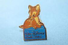 rare Walt Disney Home Video pin badge. cute  bambi