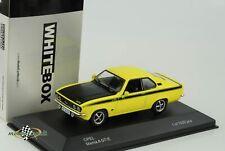 Opel Manta A GT/E gelb zitrusgelb 1:43  Whitebox