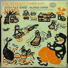 Felix De Nobel - Dutch Folk Songs & Valerius Songs LP Mint- LC 3263 Vinyl Record