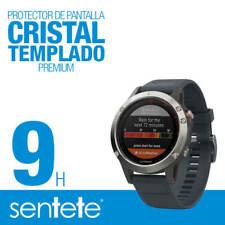 Sentete® 1x Garmin Fenix 5 Protector de Pantalla Cristal Templado PREMIUM