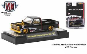 Chase 1973 CHEYENNE SUPER 10 SS-01 CAPT.SQUARE BODY BLACK 1/64 M2 31500-HS20
