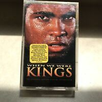 When We Were Kings Tape Soundtrack Cassette Tape Fugees Tribe Called Quest Tape