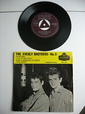 THE EVERLY BROTHERS - N° 5 - EX EP ORIGINAL DE 1958 - MADE UK