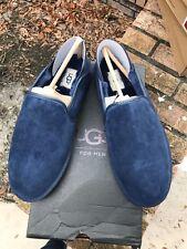 New In Box UGG Australia Mens Cooke Navy Slipper Shoes US 10 Sheepskin