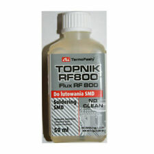 5 X TOPNIK Rf800 Liquid Soldering Flux BGA SMD SMT RMA Rework 50ml