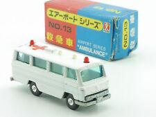 Bandai No.13 Airport Series Ambulance Krankenwagen MIB OVP 1411-27-04